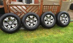 Toyota hilux alloys 4 225/65/16 with general grabber