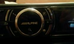 Alpine audio receiver, best stereo for sub/ amp! Can be