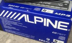 Alpine car CD player MP3 great condition model is CDA