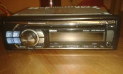 alpine car cd player , with mp3, bluetooth, wma/aac.
