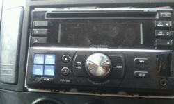 Here for sale is my wife alpine cd player in full