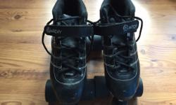 Lightly used roller derby skates, in great condition