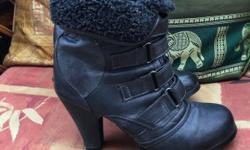 Aukle boots size 3,was worne couple Of times,may need