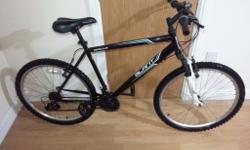 apollo black bike with 26 wheel size. Full serviced and