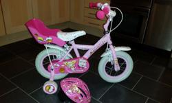 "Apollo Cupcake Kids' Bike - 12"" Stabilisers. Matching"