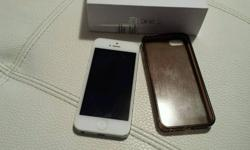 Factory unlocked white 16GB iPhone with box, unopened