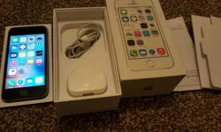 Apple iphone 5s 16gb boxed on vodafone, does have some