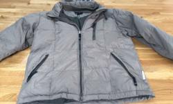 Armani Jeans Puffa Jacket There is a small tear as