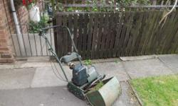 Atco commodore 2 stroke mower. Cuts beautifully and has