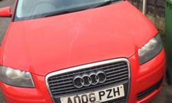 For sale is my audi A3 2.0 Tdi sportsback 2006 06 Reg