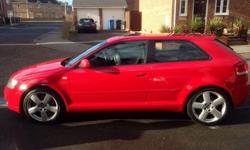 Audi a3 3.2 quattro S-line 6 speed manual ,250bhp fully