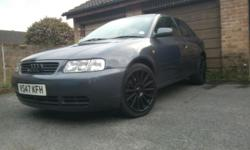 Audi A3 1.8 sport with 6 months tax and 6 months m.o.t