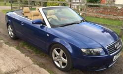Blue, Sport Edition Cabriolet in excellent condition --