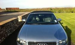 Audi A4 convertible 2.5 tdi s line 87000 miles, full