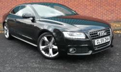 This stunning Audi A5, Special Edition, with low