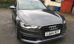 Audi A6 S-line ultra 190. Manual. Daytona Metallic