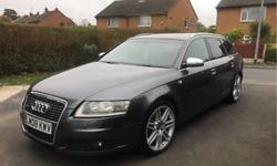 FOR SALE IS MY AUDI A6 2.7 TDI S-LINE SPECIAL EDITION