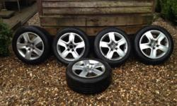 Hi for sale is my Audi alloys they are 16 inch there is