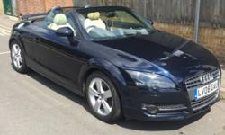 For sale is my beautiful Audi TT, an excellent summer
