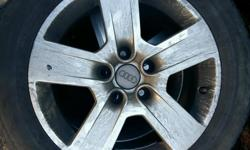 Audi a4 alloys set of 4 5x 112 fitments No buckles 2