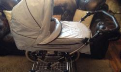 Beautiful baby blue (rare colour) baby style lux pram