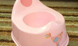 Pink Potty, Free This potty is ideal when potty