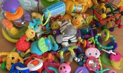 Bundle of toys for baby - all in great condition. Some
