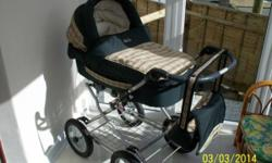 babystyle lux pram/pushchair, front or rear facing, in