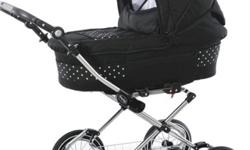 Babystyle travel system for sale. Black with small