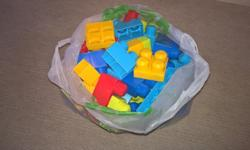 Bag of mega bricks for sale, fab condition, only