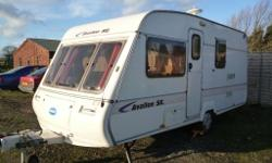 FOR SALE A 1993 BAILEY AVALON SE 4 BERTH TOURING