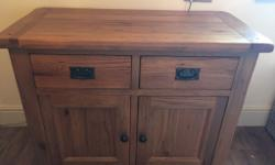 Barker and Stonehouse solid oak sideboard, in excellent