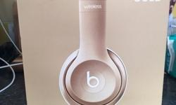 Beats by Dr dre beats solo2 wireless gold edition! The