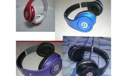 These Beats by Dr Dre monster studios are used but in