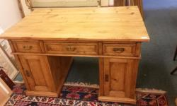 This is a really beautiful antique desk that is in