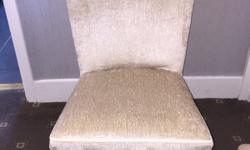I have for sale a lovely upholstered bedroom chair,
