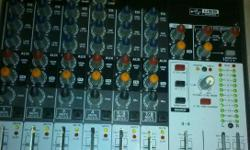 Perfect condition 12 channel Behringer mixing desk with