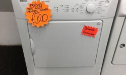 Beko 7kg vented tumble dryer. � 7kg load � vented