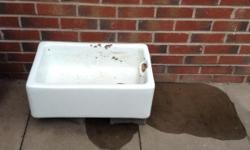 Belfast sink for sale - good condition. Has been used