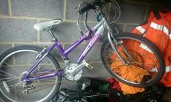 Girls bike Rayleigh. Suit age 7-10 Fair condition.