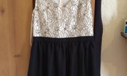 Letter box cut out dress. Brand new. Never worn.