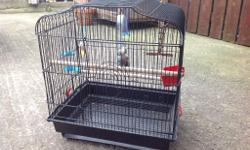 Budgie cage with toys shown in pic The tray from the