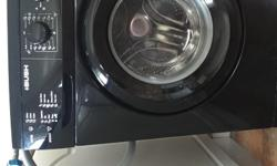 Black bush washing machine Excellent condition and