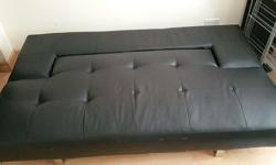 Good quality double sofa bed had very little use. Great