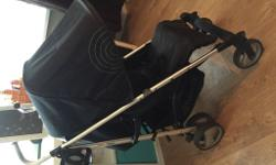 Black hauck spirit stroller still in good working order