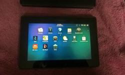 Blackberry tablet. Great condition, hardly used. Comes