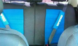 Blue universal Car Seat covers for Sale. Good used