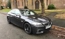 BMW 520D M Sport is in excellent working order no