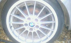 "Bmw style 32 alloys front 8j x18"" rear 8.5j x18"" coming"