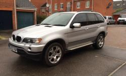 BMW X 5 E53 (2001-2006) Full Cars Breaking In Silver